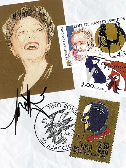 Edith Piaf / Edit de Nantes / La Constitution / Tino Rossi