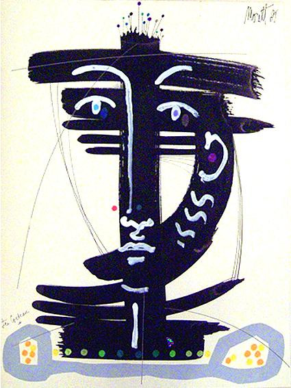 Masque Cocteau - Moretti