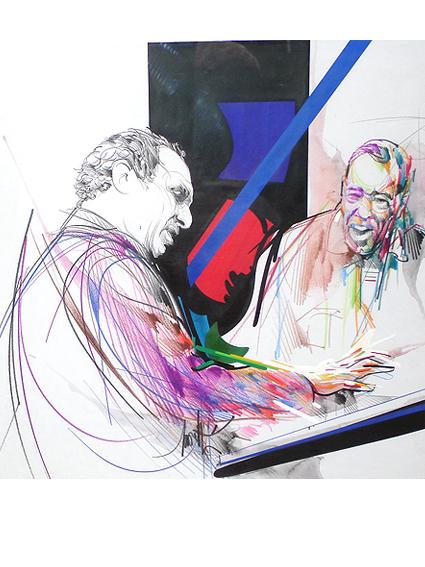 Claude Bolling et Duke Ellington