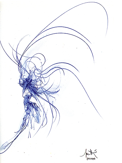 Moïse bleu