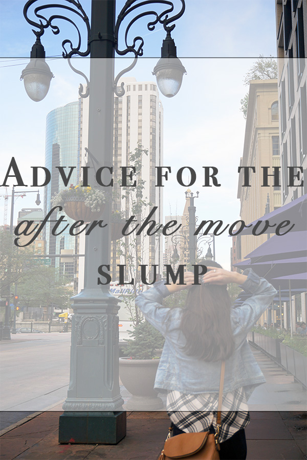 Advice for the after the move slump - AVintageJoy