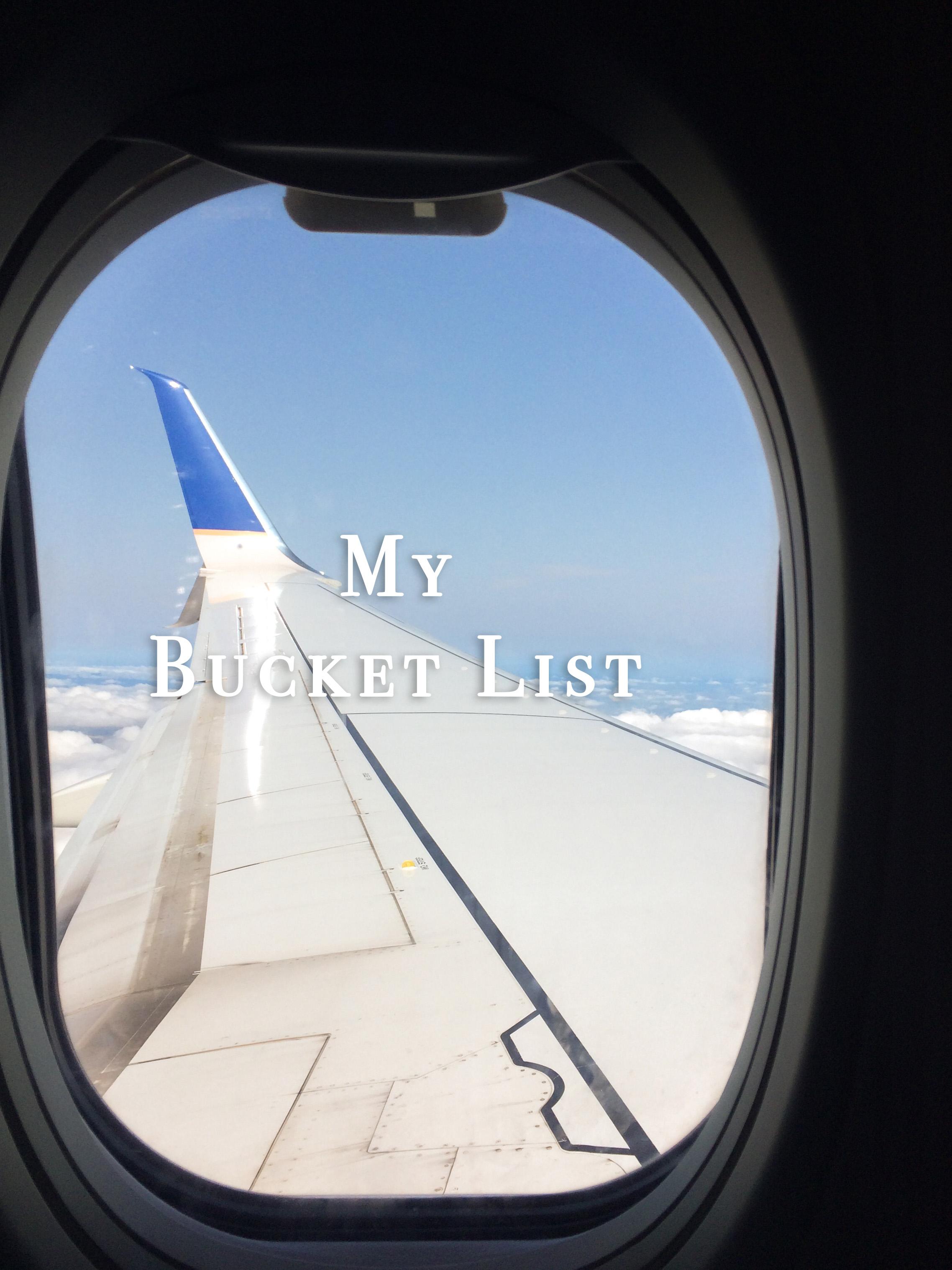 My Bucket List - AVintageJoy