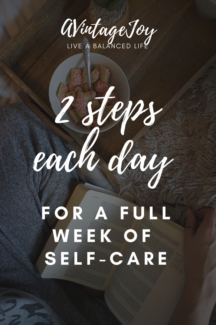 Weeks fly by so fast! What are you doing this week to improve your self-care and your life? Here are some real steps you can take to move you forward!