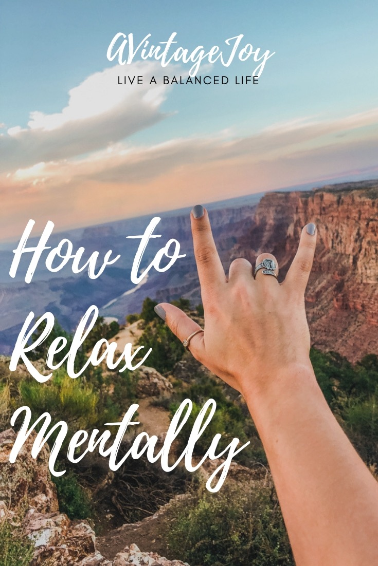 Life can be difficult sometimes, but it's important to relax mentally as well as physically. Here's some step how to relax mentally!