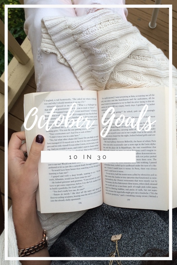 10 Goals in 30 Days, what are your goals this month? - AVintageJoy