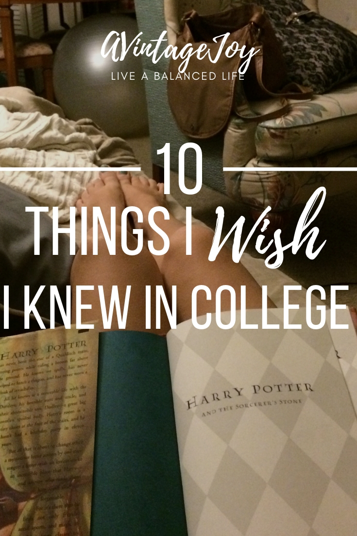College can be hard, but it can also be a wonderful time in your life. Looking back, I wish I had these tips and view points when I started.