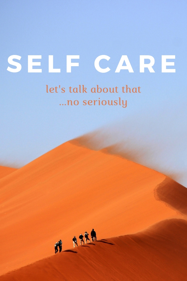 As the official American Self Care week comes to an end I would really love to start a conversation about what you think about self care. Do you think it's an important topic to discuss?