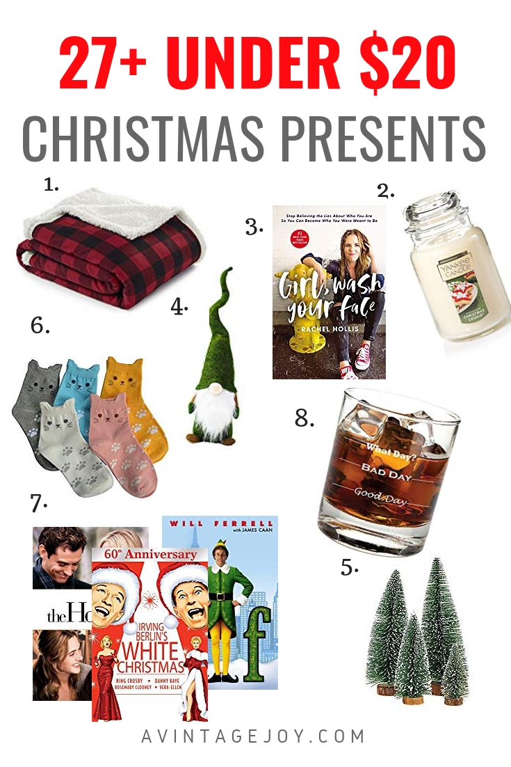 Be prepared this Holiday season with 20 Christmas items under $20. Use them as gifts, or for yourself! Get ahead of the curve!