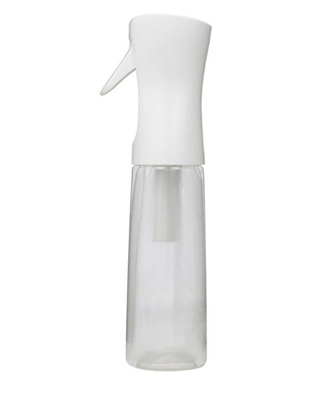 FLAIROSOL CONTINUOUS SPRAY BOTTLE - Hey Curlfriends! This is not your regular spray bottle! This product provides an endless fine mist to allow quick and even distribution of your product mixtures.