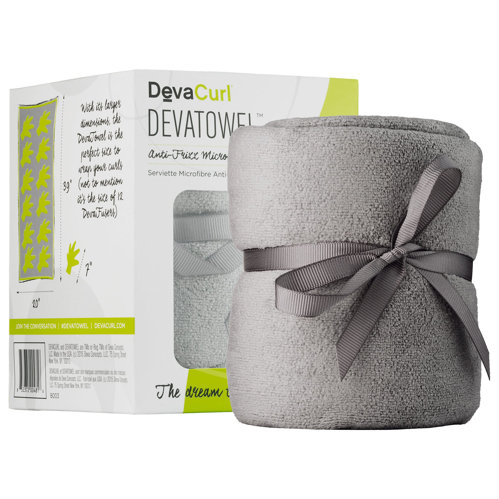 DevaCurl Microfiber Towel  - As featured as a #POTM in the Product Bible, The DevaTowel is our favorite!
