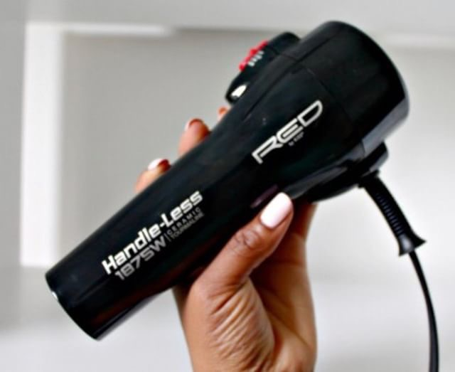 2. Handle-Less Blow Dryer - This ceramic hair dryer is the key to smoother blow outs!