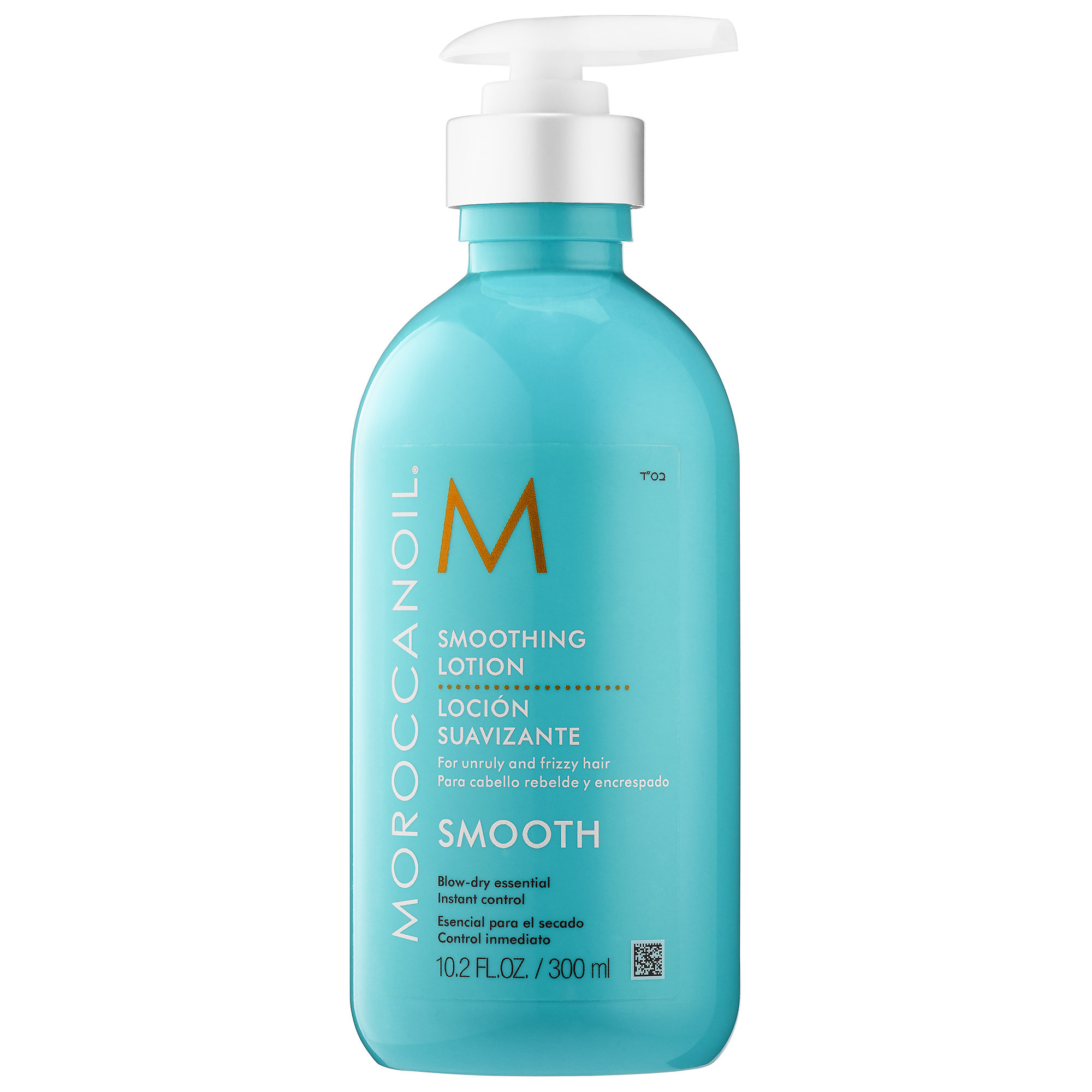 Moroccan Oil Smoothing Lotion - An all-in-one blow dry lotion that leaves hair soft and smooth, while taming frizz and resisting humidity.