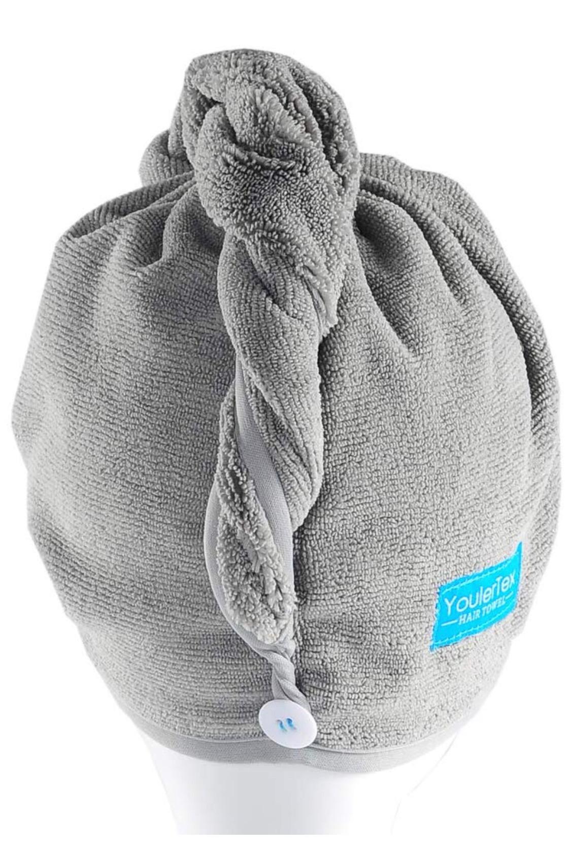 YoulerTex Microfiber Hair Towel Wrap