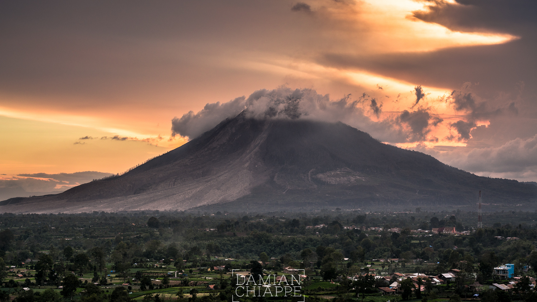 Gunung Sinabung, 2016.-