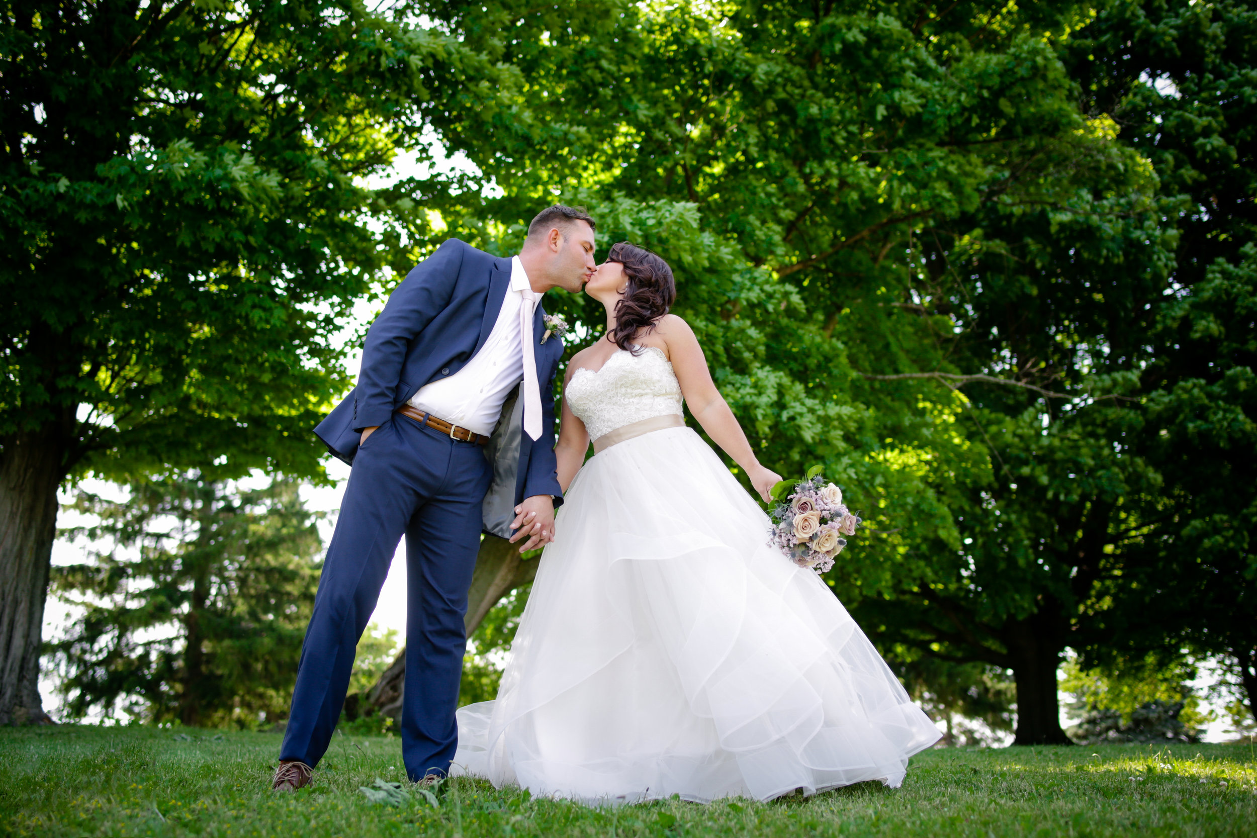 White Springs Manor in Geneva, NY (wedding at Geneva Country Club)