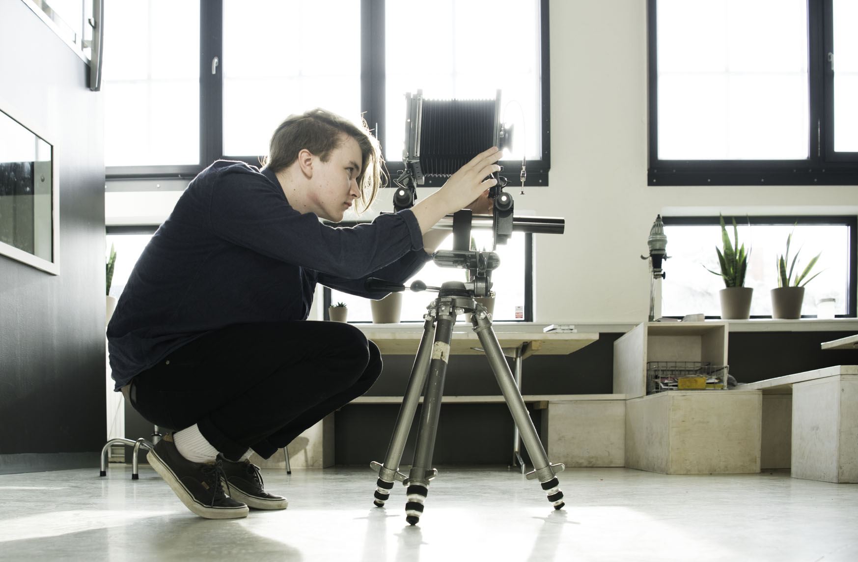 "Workshop Analogt 4x5"" storformatkamera"