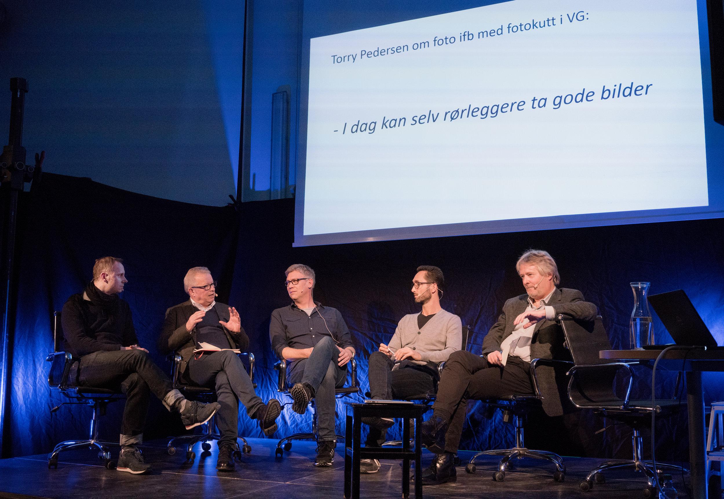 f.v: Kim Nygård, Bernt Olufsen, Jon Petter Evensen, Thomas Borberg, Torry Pedersen