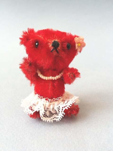 Emaline, miniature mohair Artist Bear