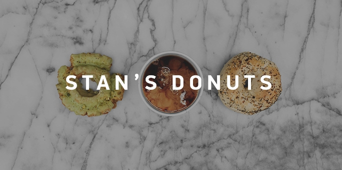 Stan's Donuts and Coffee    No minimum guest count    > PDF MENU
