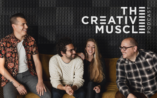 A PODCAST FOR THE CREATIVE IN EVERYONE
