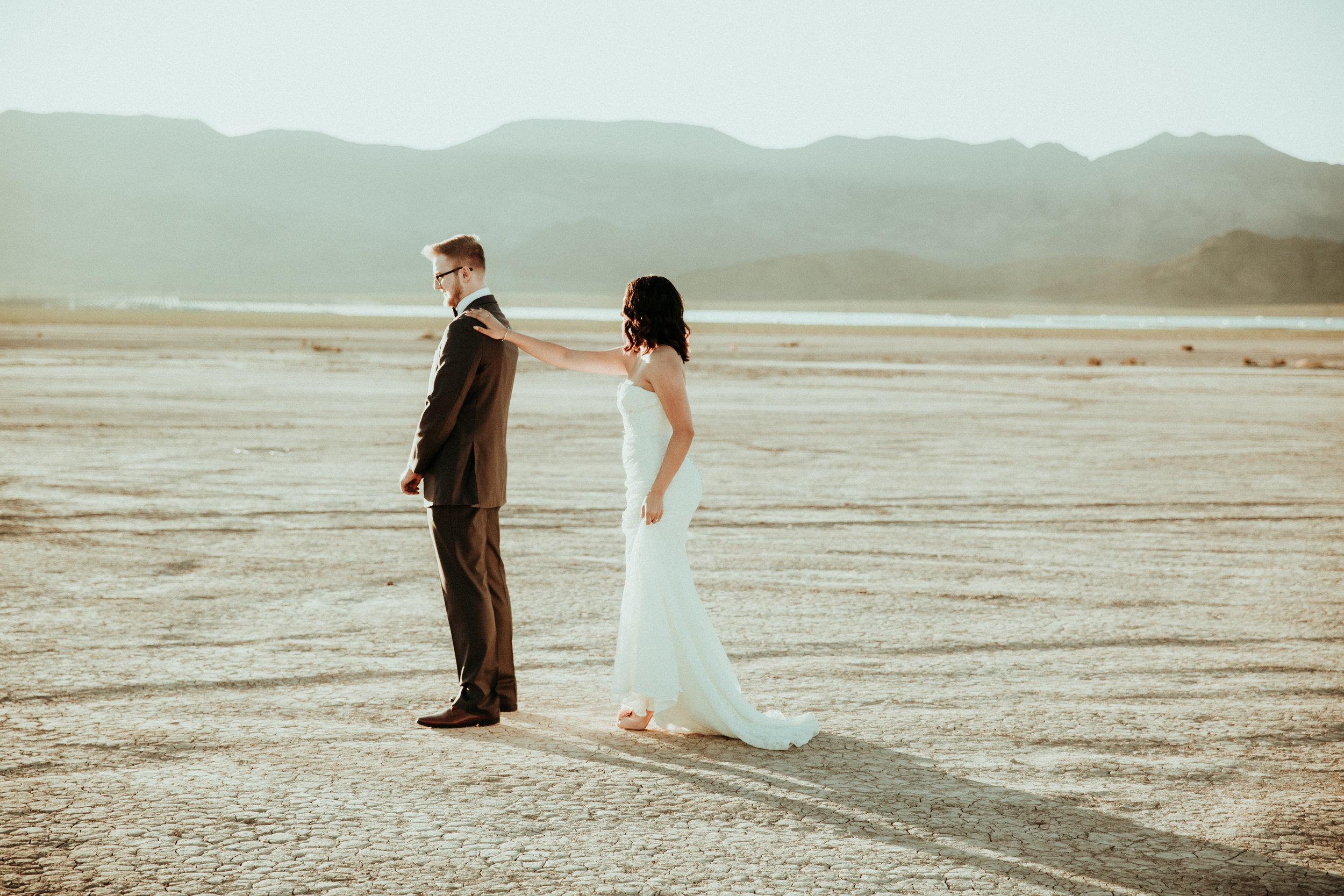 Las Vegas Wedding Photographer - Seattle Wedding Photography - Henderson, NV - First Look Session