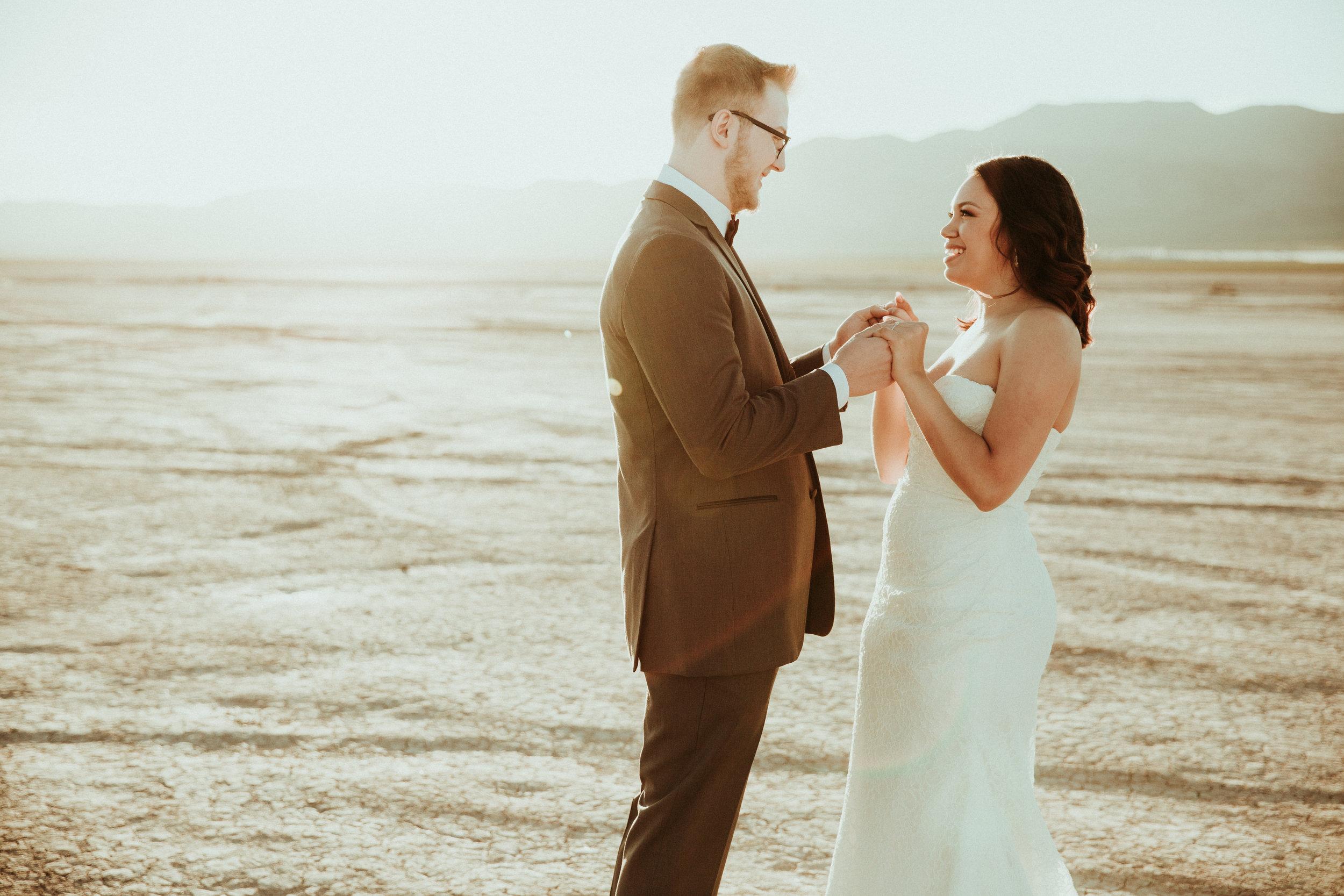 First Look - Jessica + Daniel - Henderson Wedding Photographer - Las Vegas Wedding Photography - Seattle Elopement Photographer