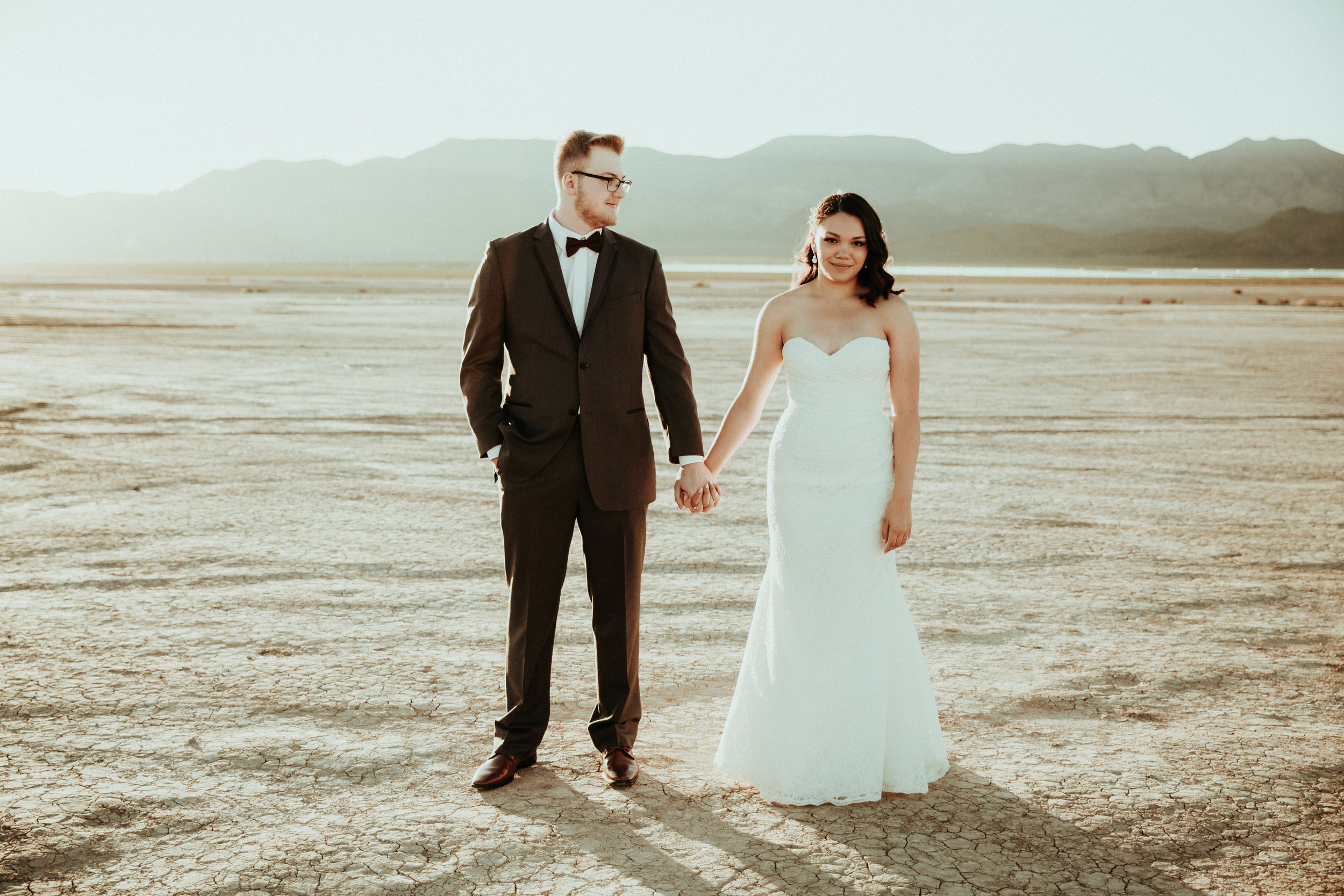 Jessica + Daniel - Seattle Wedding Photographer - Las Vegas Wedding - Henderson, NV - First Look