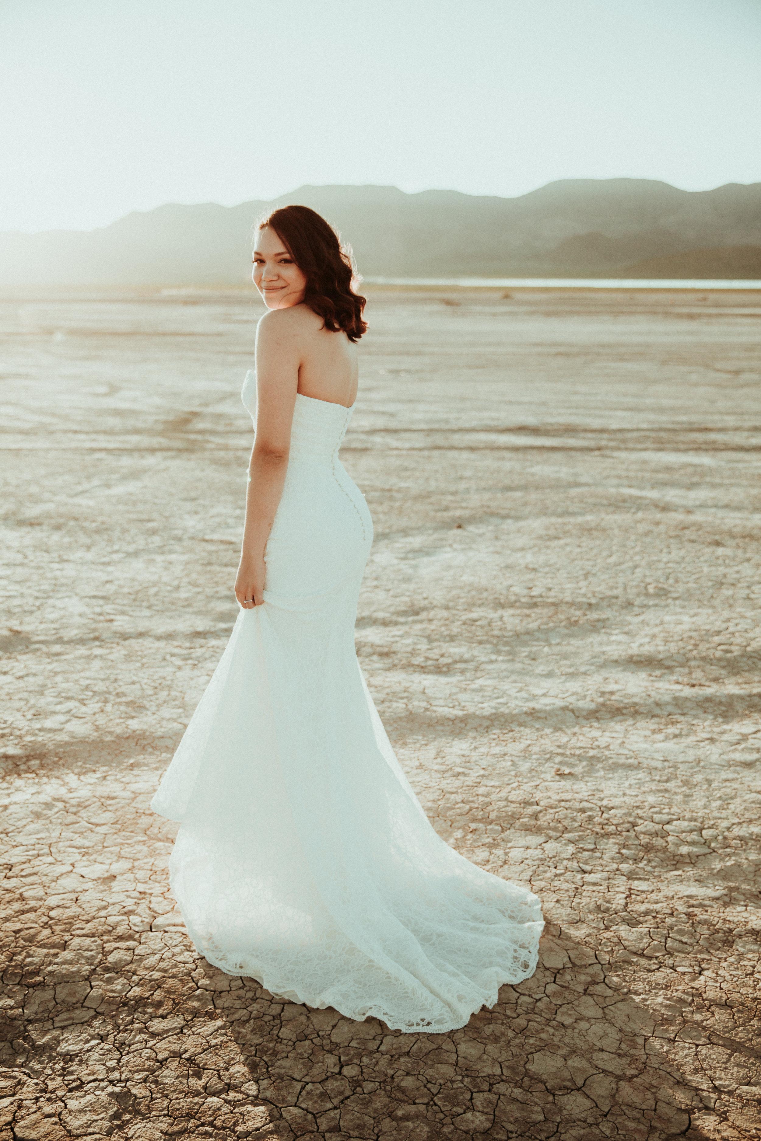 Jessica + Daniel - Seattle Wedding Photographer - Las Vegas Wedding - Henderson, NV - First Look - Bridal Portrait