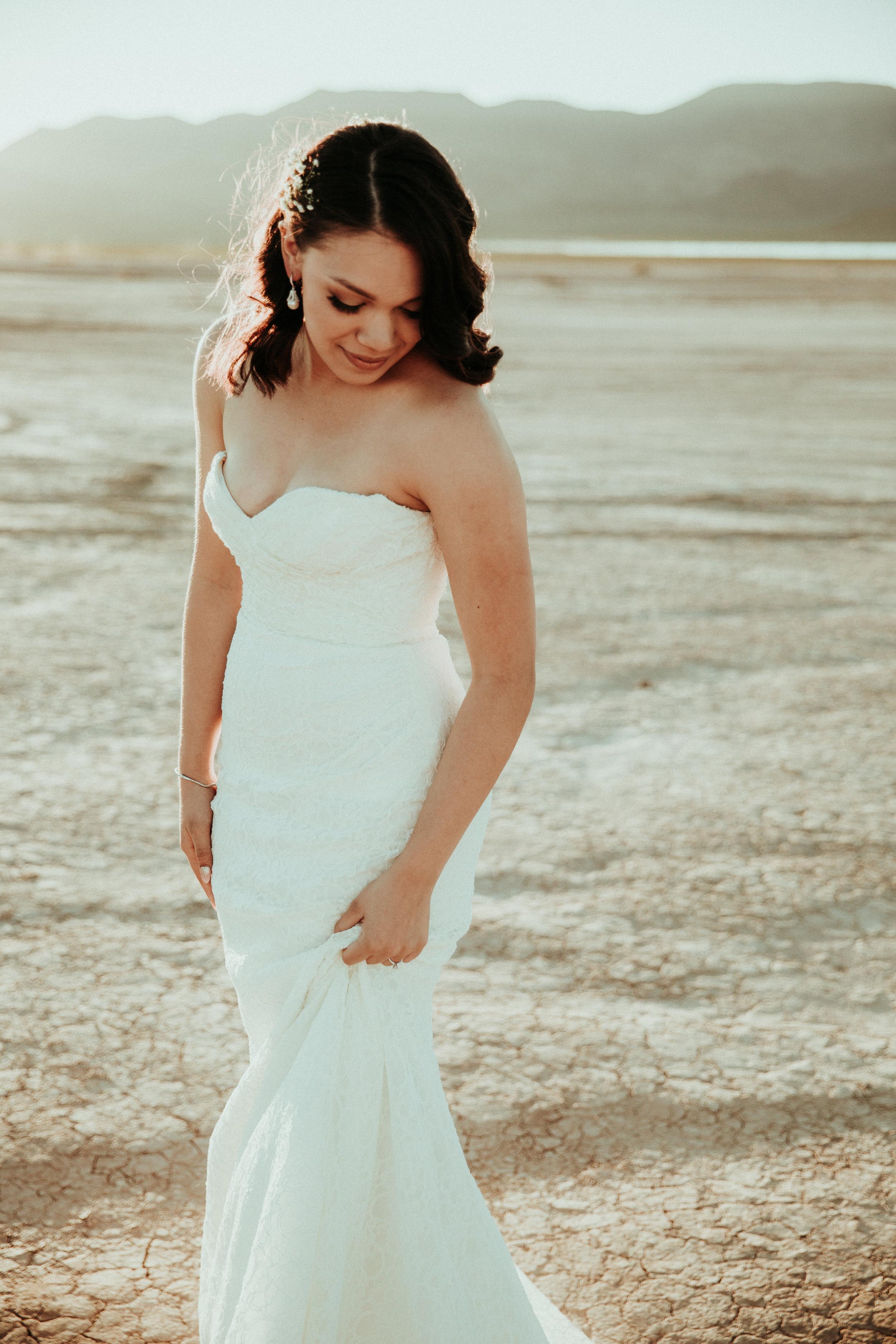 Bridal Portrait - Bride - First Look - Las Vegas Wedding Photographer - Seattle Wedding Photographer - PNW Elopement Photographer - Henderson, NV - Portland Wedding Photographer