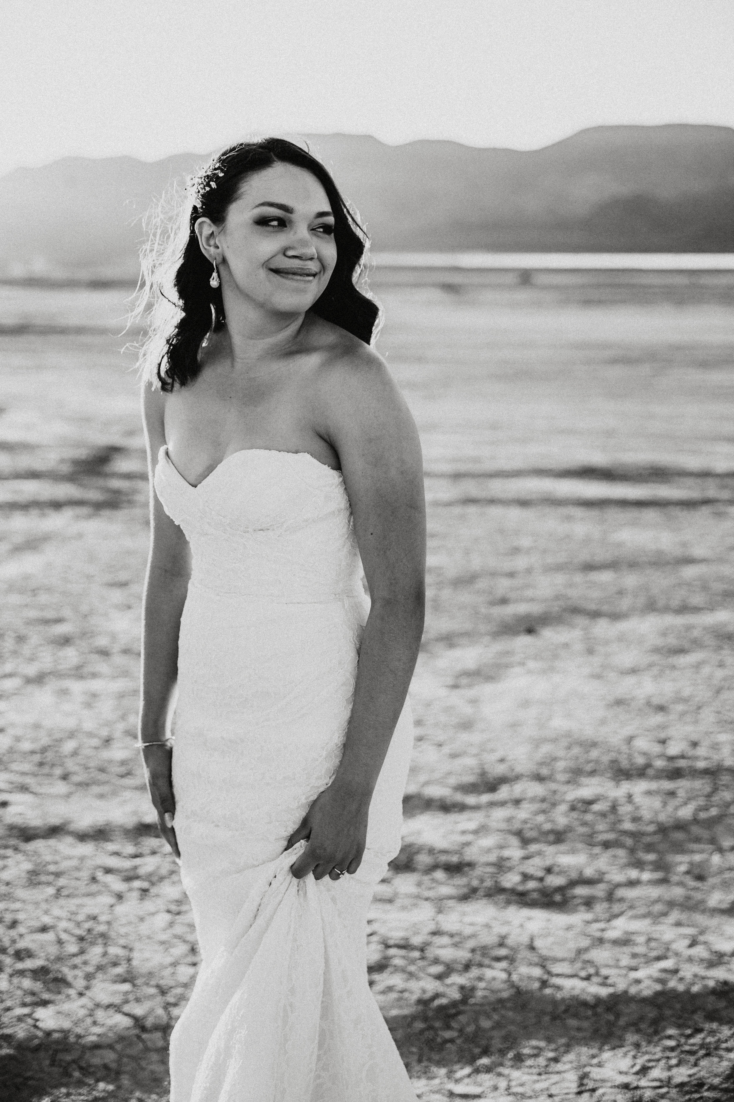 Kamra Fuller Photography - Las Vegas Wedding Photographer - Seattle Wedding Photography - Bridal Portrait - First Look