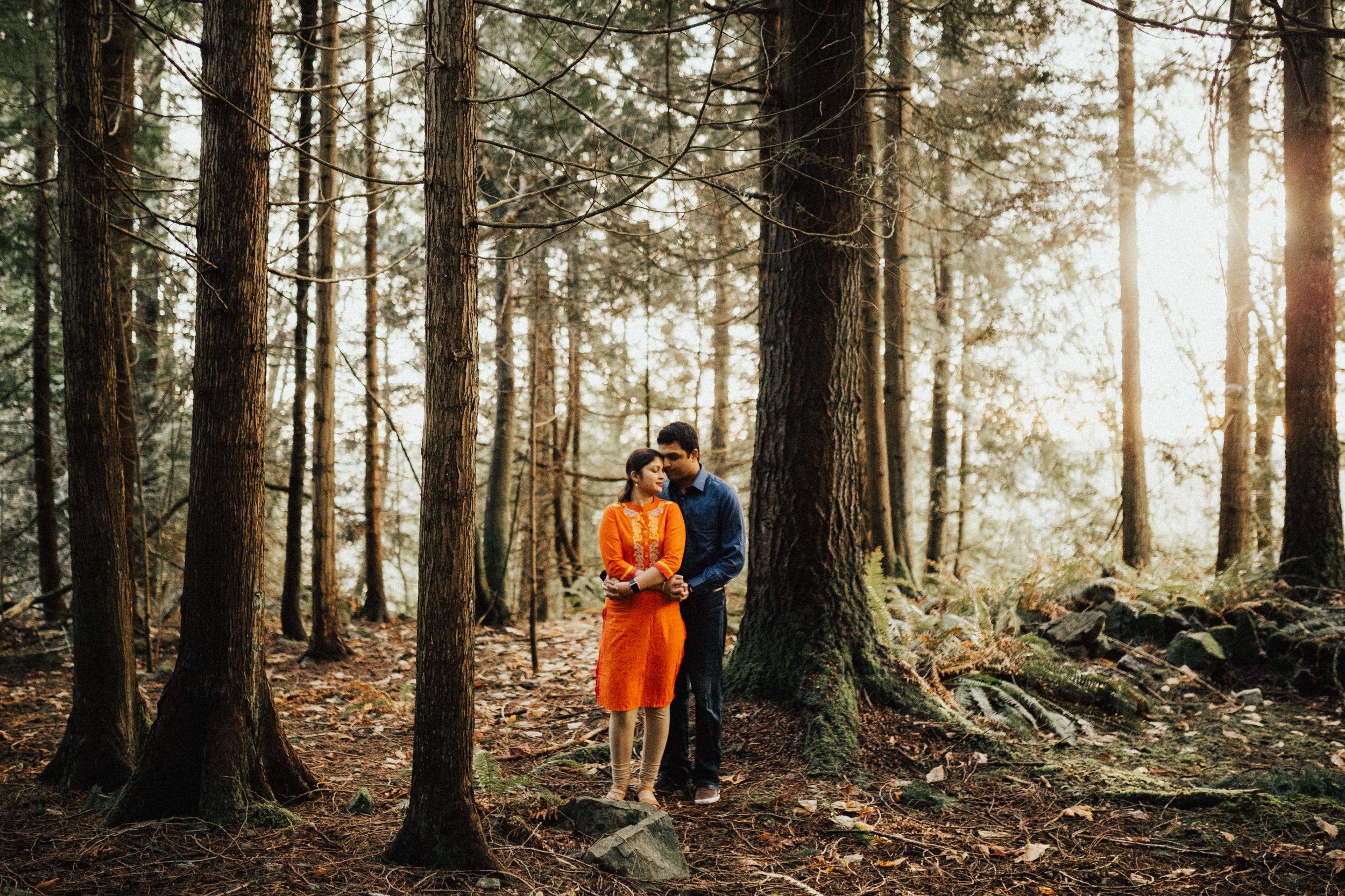 Seattle Engagement Photography - Seattle Wedding Photographer - Washington Couple's Session - Squak Mountain, WA - PNW Wedding Photographer - Portland Wedding Photographer - Engagement Session - Adventure Session