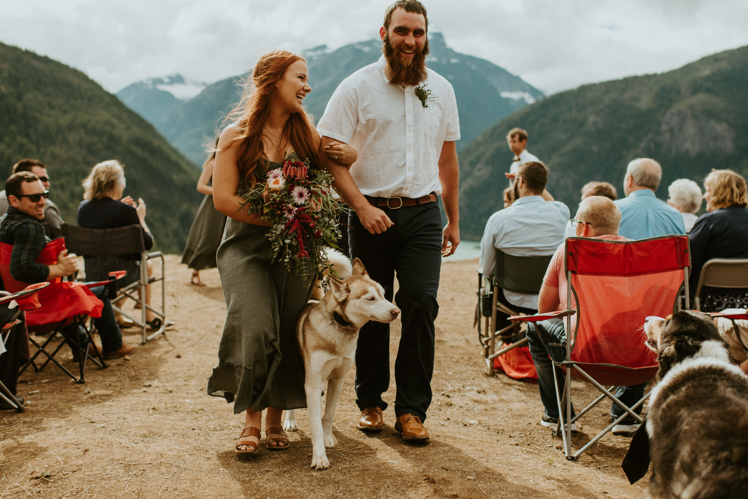 Kelsea + Perry - Diablo Lake Elopement - Kamra Fuller Photography - Seattle Elopement Photographer - North Cascades Elopement Photographer - Mt. Baker Wedding Photographer
