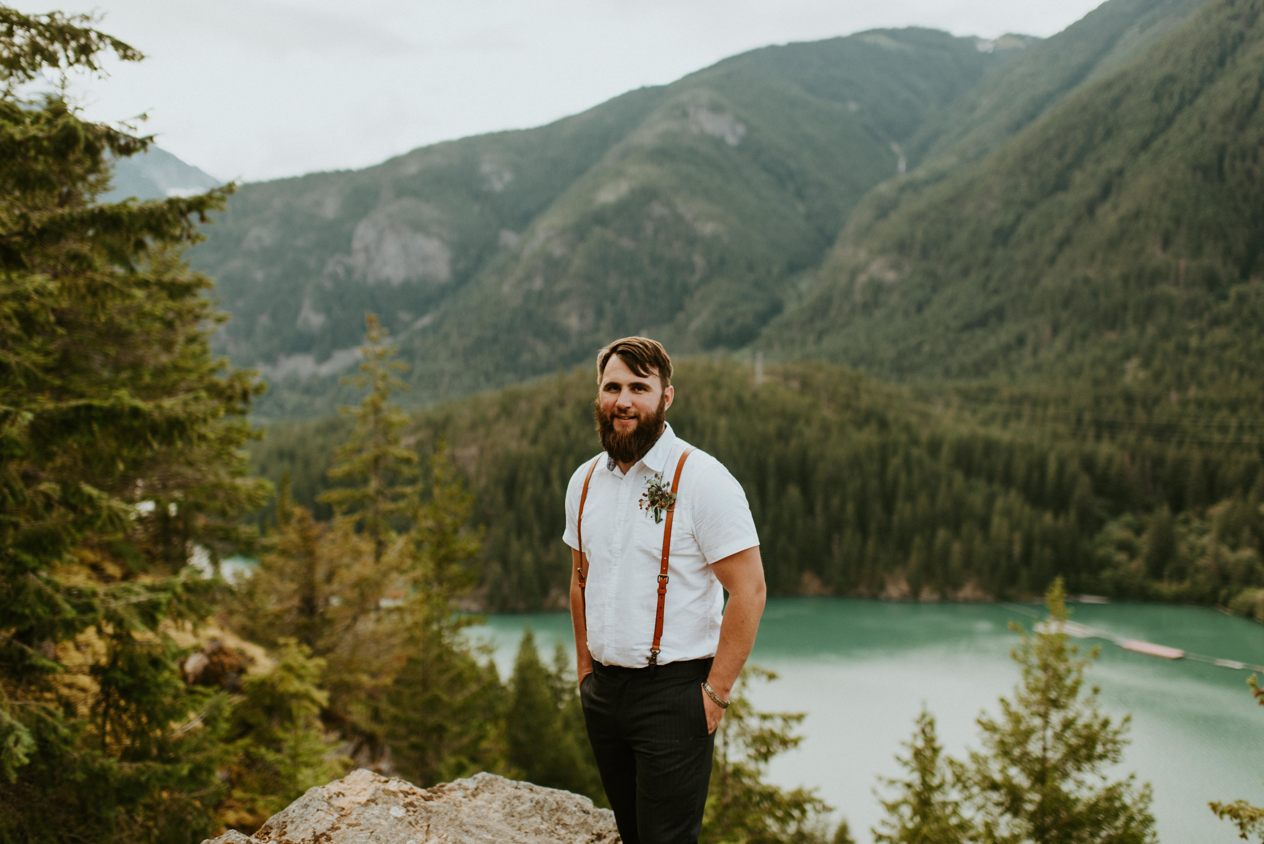 Kelsea + Perry - Diablo Lake Elopement - Kamra Fuller Photography - Seattle Elopement Photographer - North Cascades Elopement Photographer - Mt. Baker Wedding Photographerv