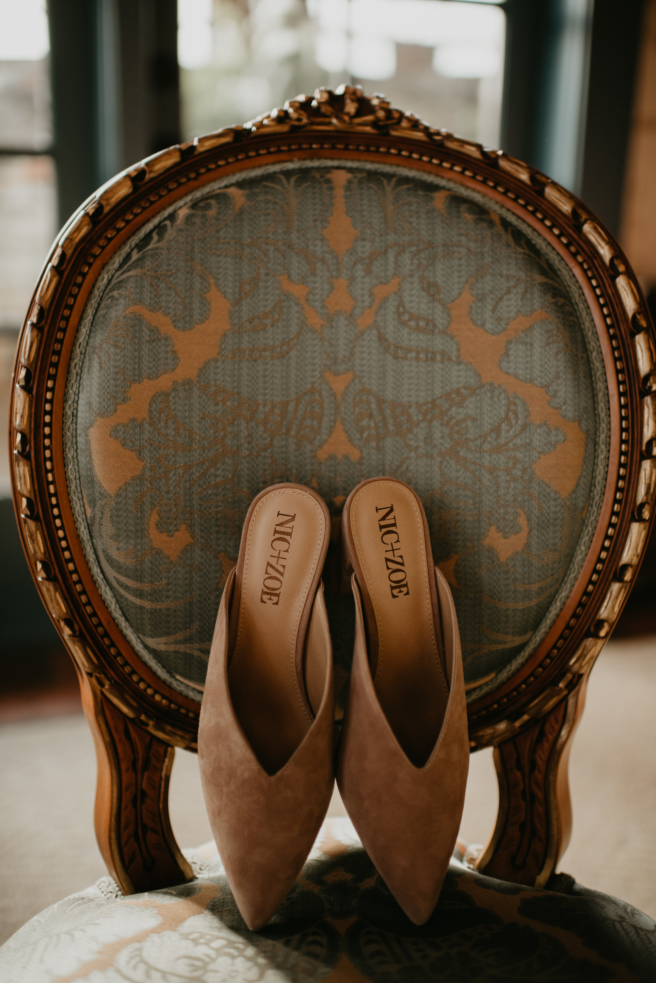 Nic+Zoe Shoes - Beau + Britty - Dutch Carnival Styled Elopement Shoot at The Ruins, Seattle, WA - Seattle Elopement Photographer