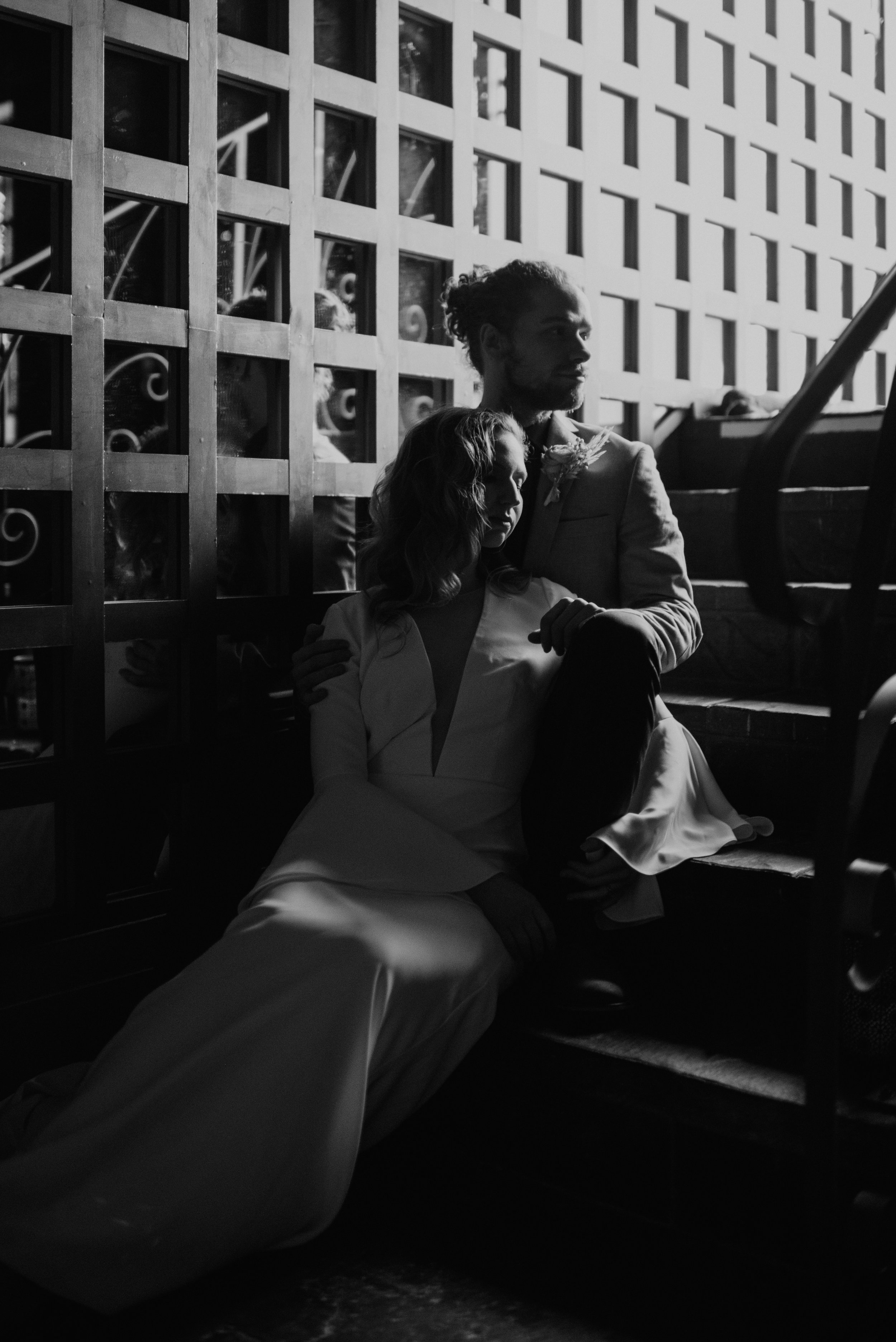 Beau + Britty - Dutch Carnival Styled Elopement Shoot at The Ruins, Seattle, WA - Seattle Elopement Photographer