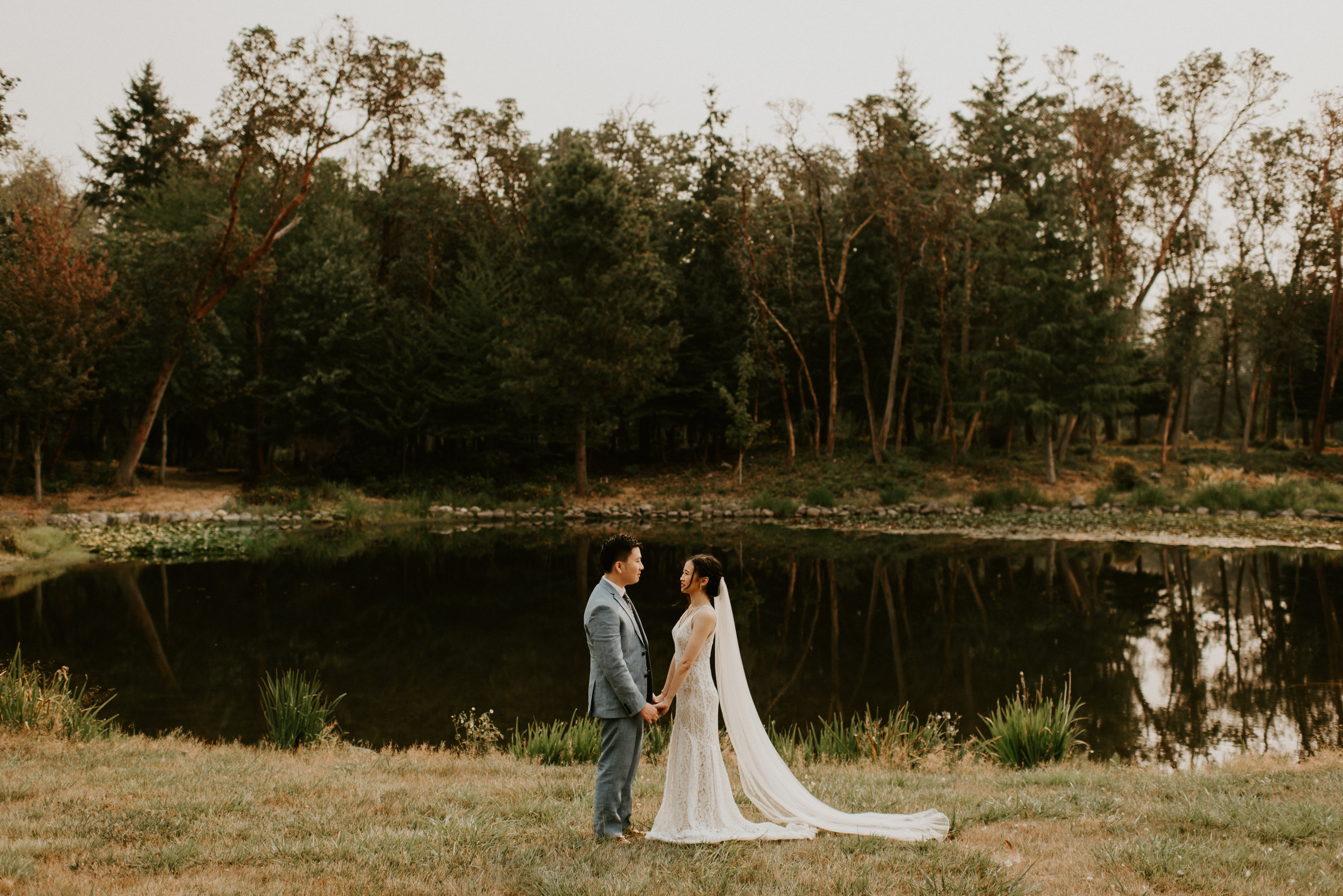 Janita + Jonathan's Intimate Wedding at Vashon Island, WA by Seattle Wedding Photographer Kamra Fuller Photography