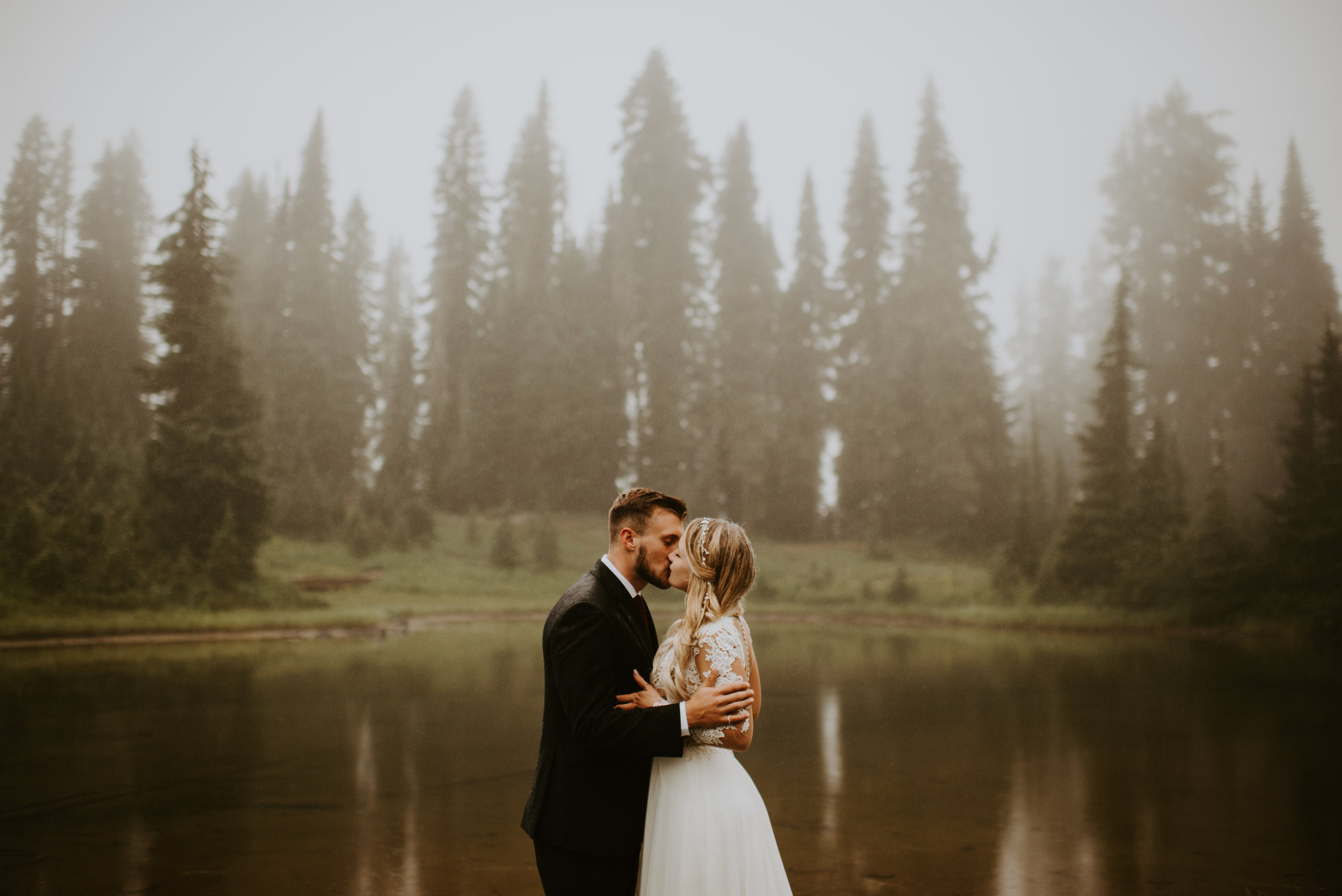 Cameo + Dawson - Day After Wedding Portrait Session - Tipsoo Lake, Mt. Rainier, Washington - Kamra Fuller Photography-76.JPG