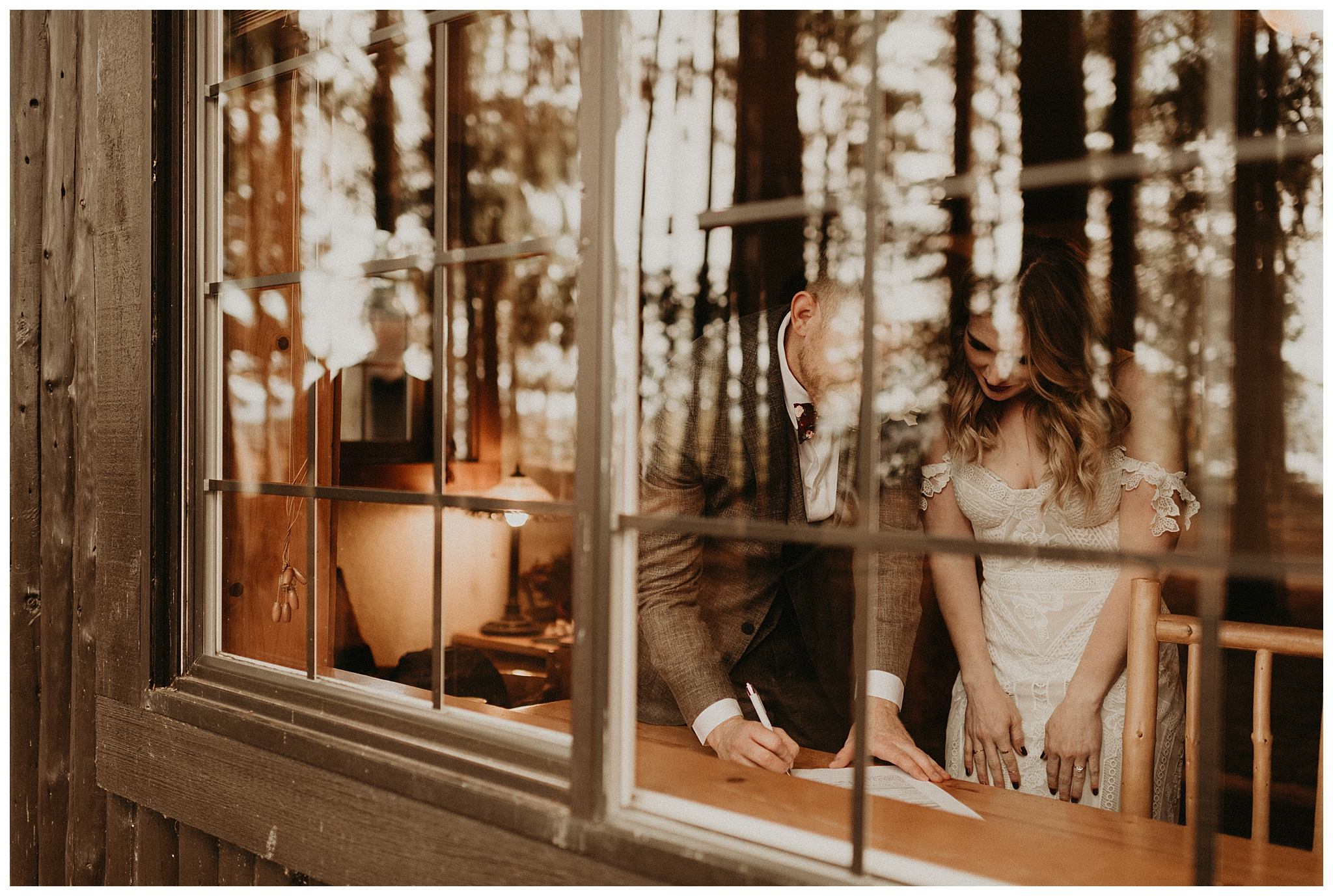 Ashley and Peter's Bohemian Woodland Wedding at Kitsap Memorial State Park, Poulsbo, WA by Seattle Wedding Photographer, Kamra Fuller Photography
