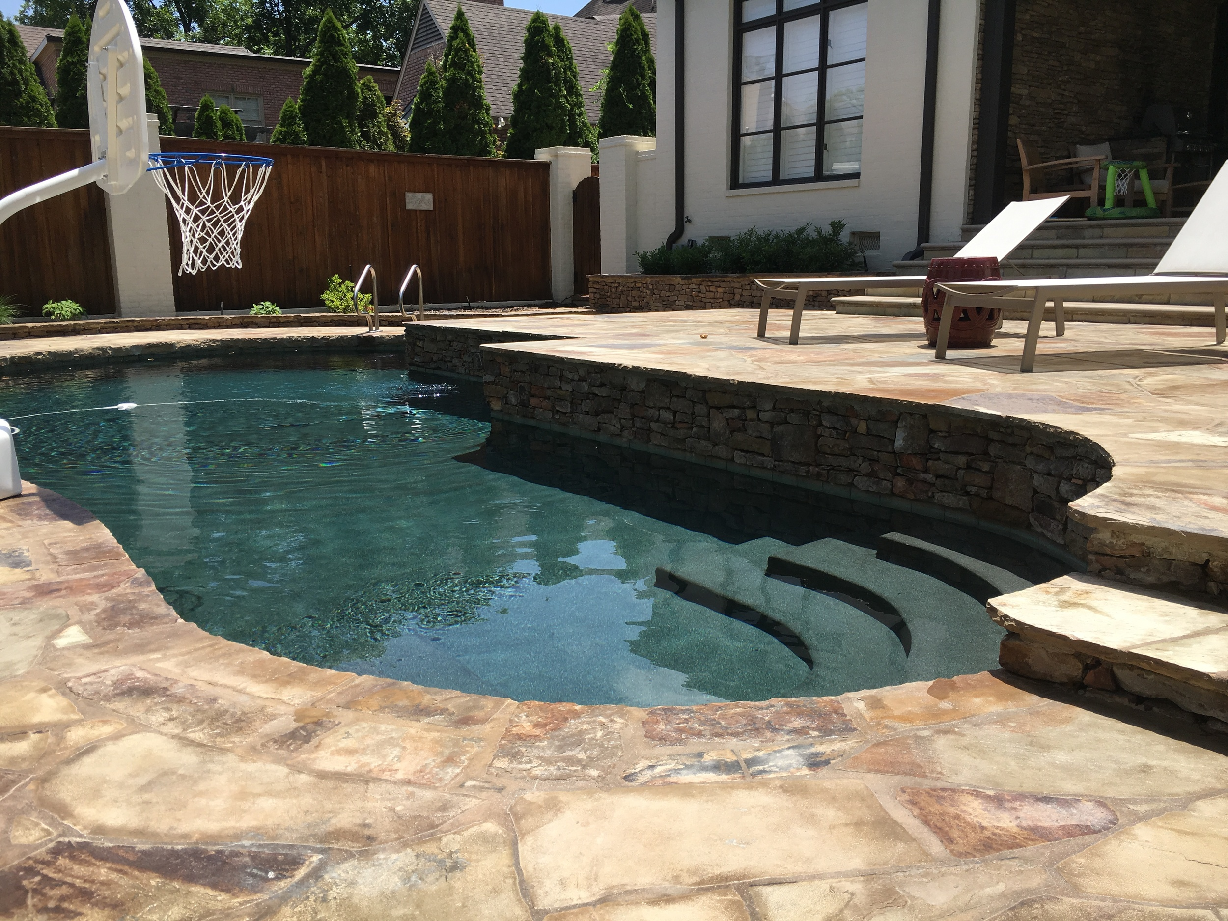 HARDSCAPING  Outdoors Unlimited is excited to fulfill your hardscaping needs. Our specialities include landscape borders and stonework.