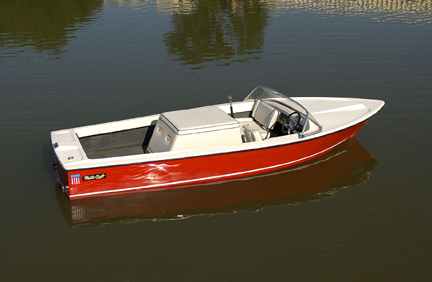 The First MasterCraft Ever produced in 1968. It was repurchased by MasterCraft several years ago and restored.