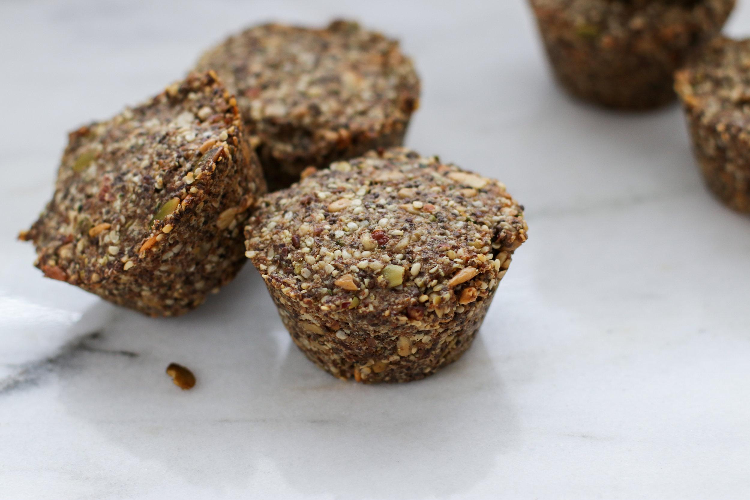 Grain-free Nut & Seed Bread Rolls