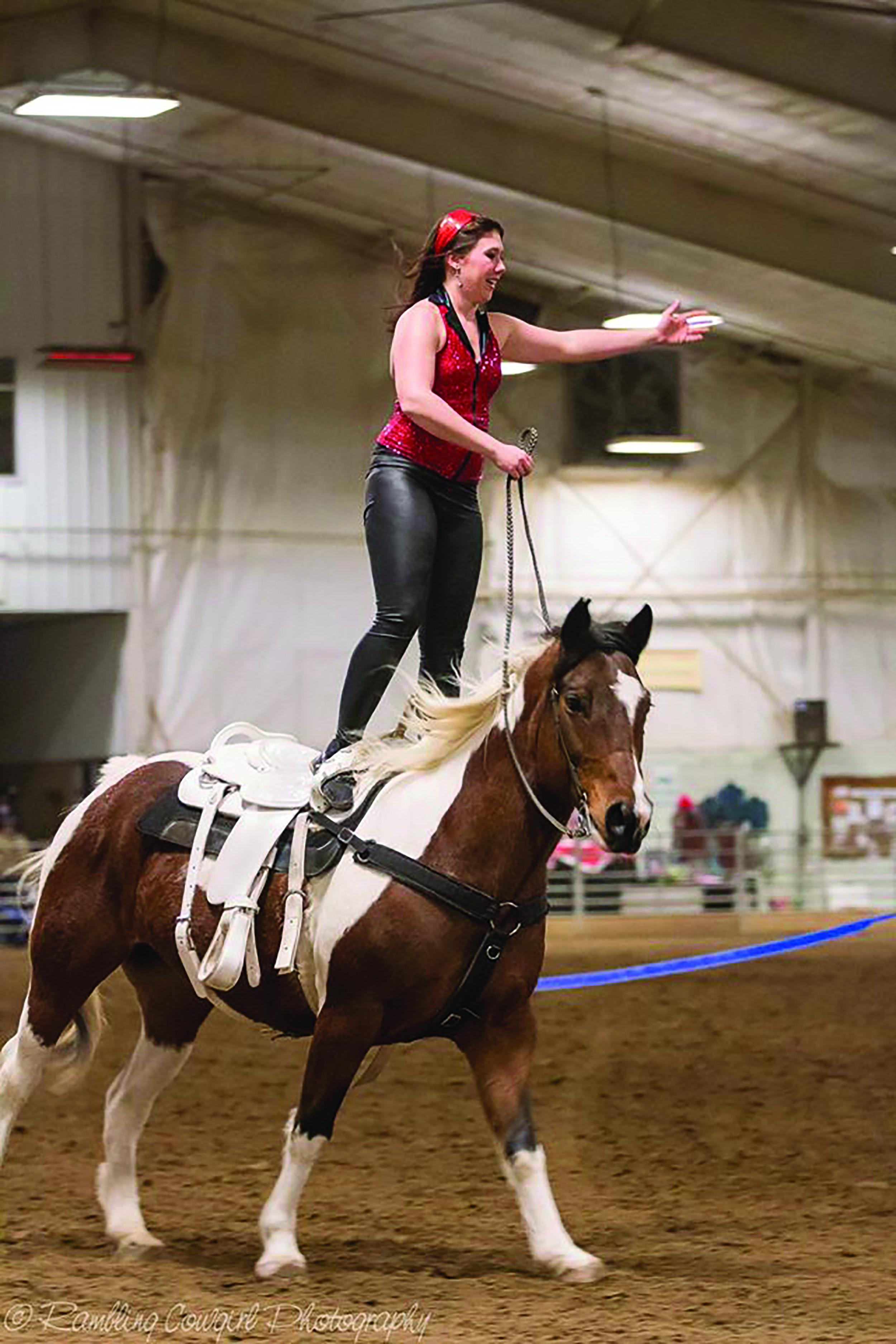 Ashley Pletcher Trick Riding