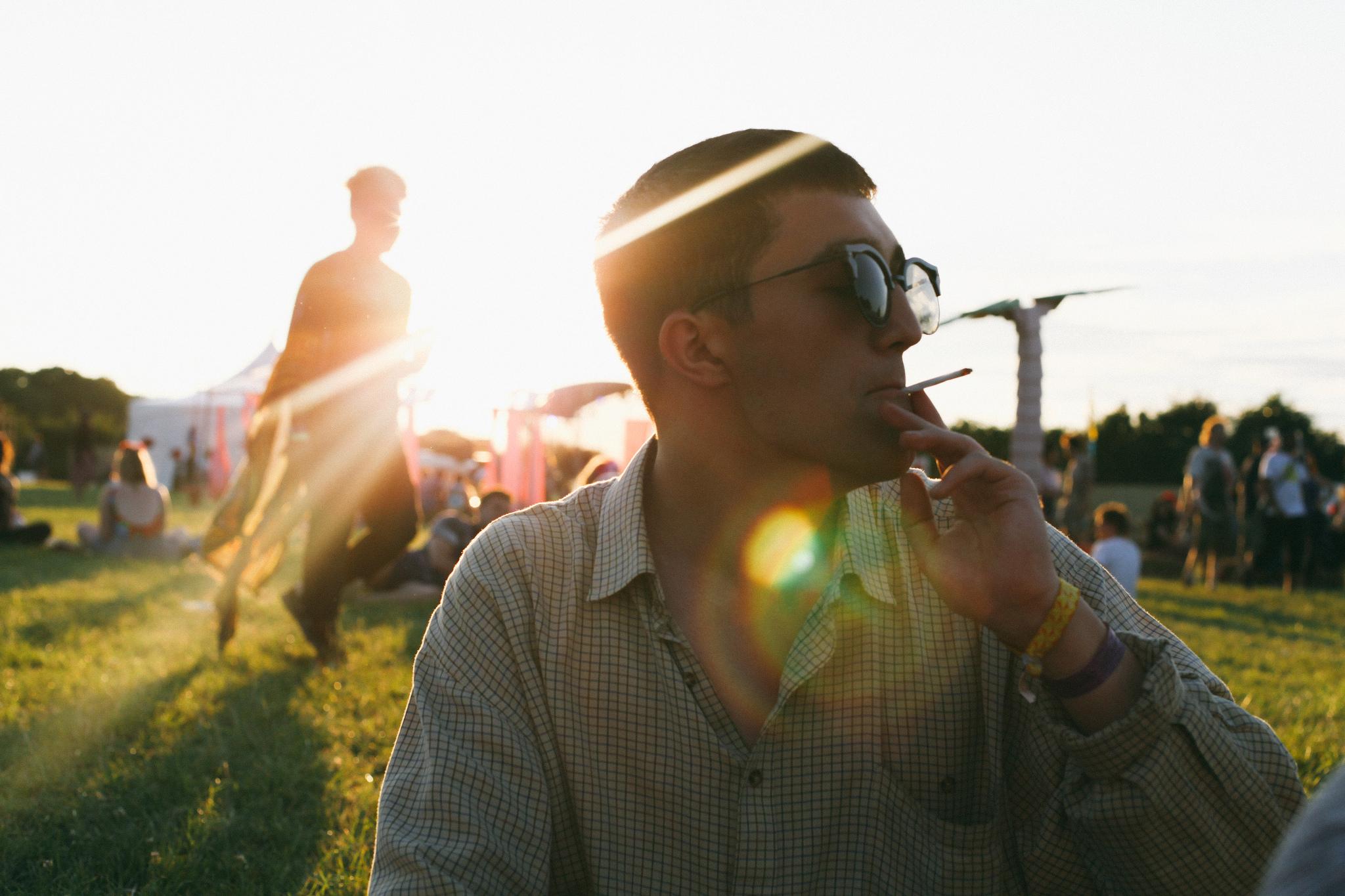 Scott at Brainchild Festival.