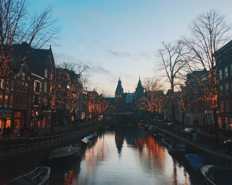 Lovely Amsterdam.