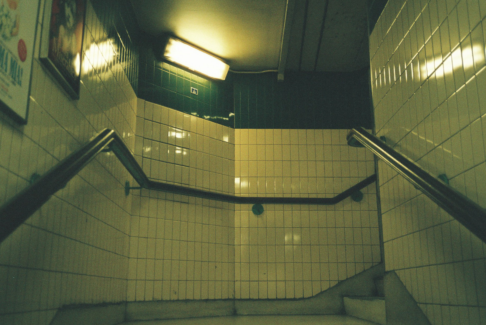 The London Underground on 35mm.