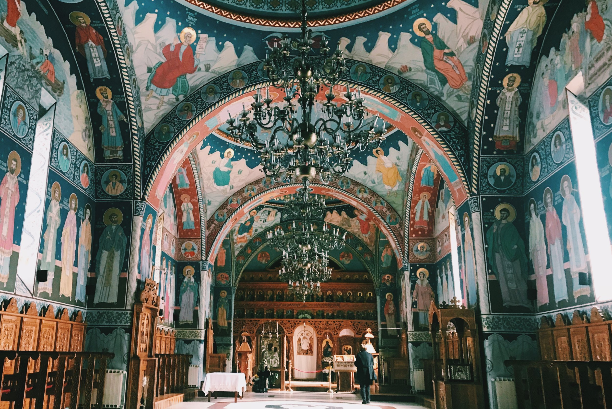 Romanian painted monasteries. One of the highlights of the year.