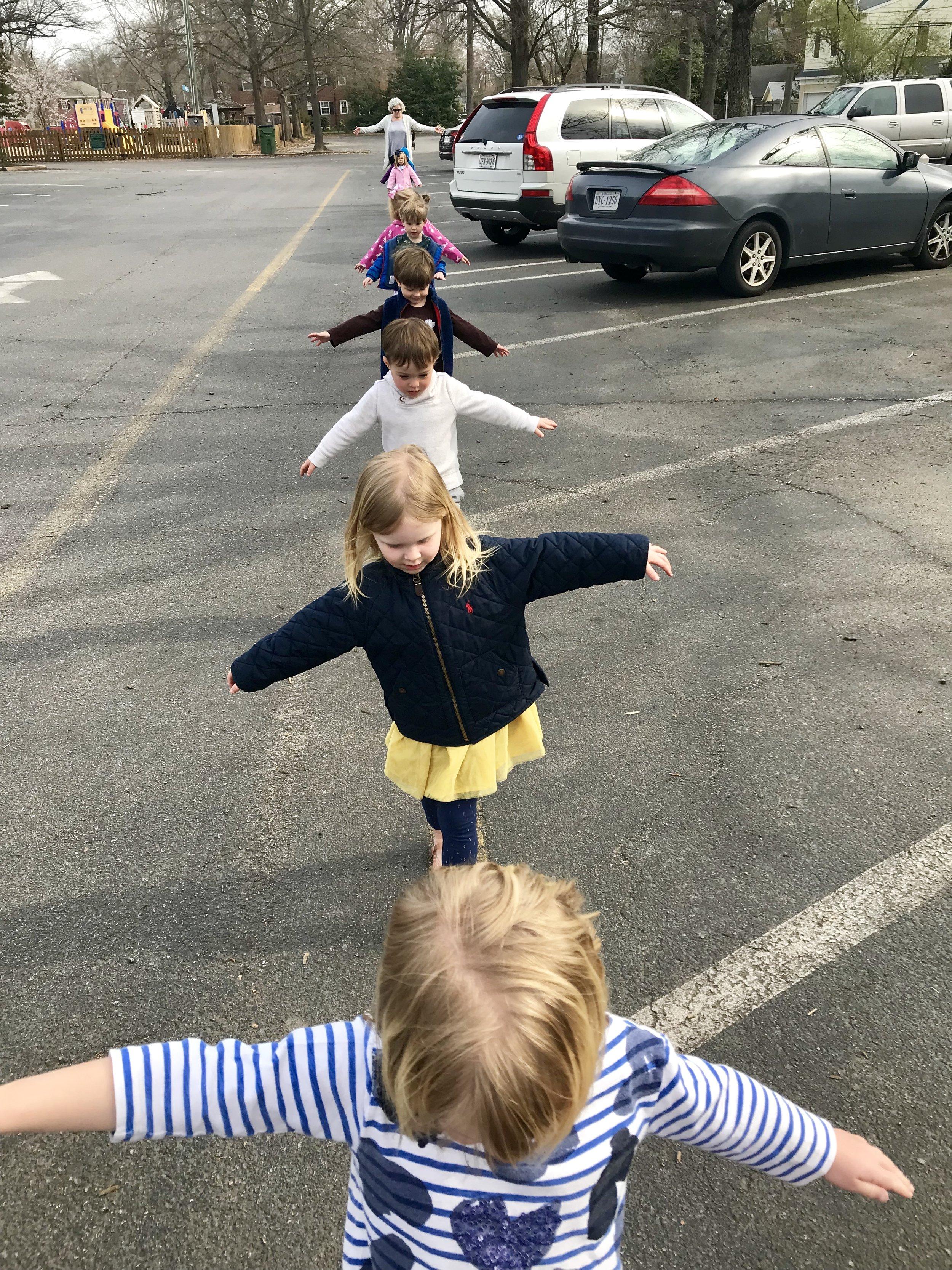 "Walking a ""tightrope"" back inside."