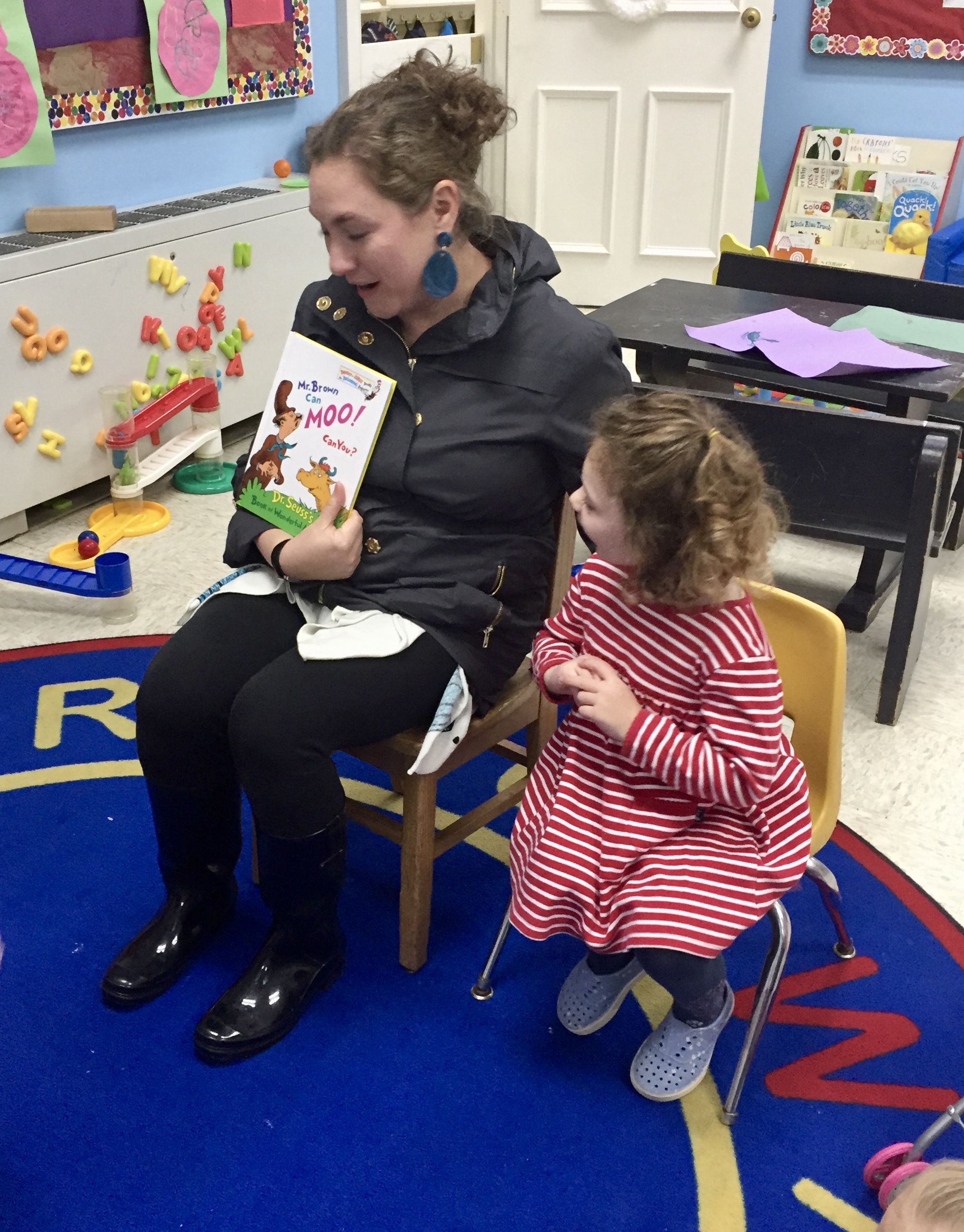 Thank you to Paige's mom for being Mystery Reader!