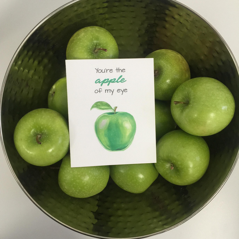 - apple of my eye -
