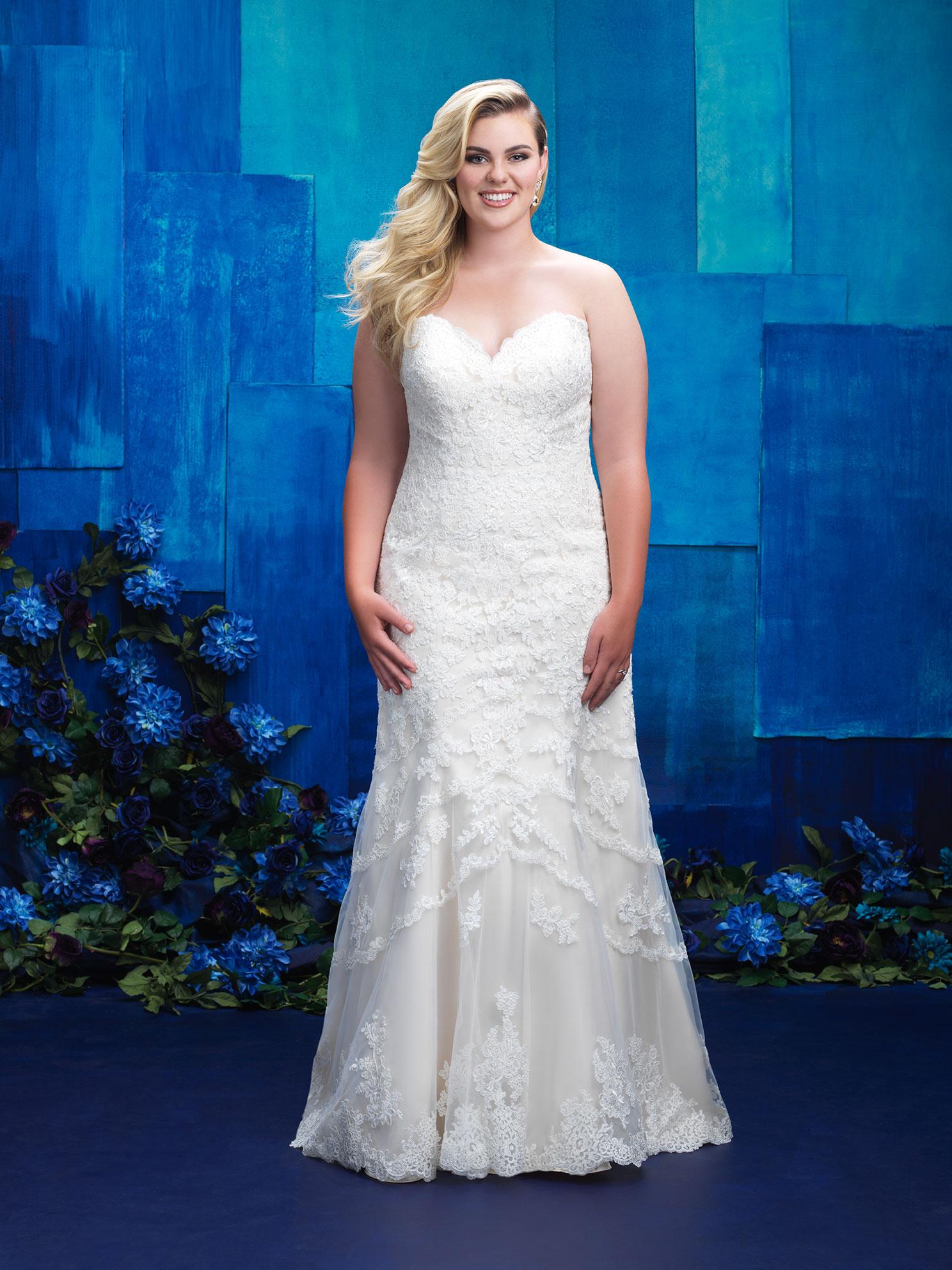 Allure Bridals W391 Front